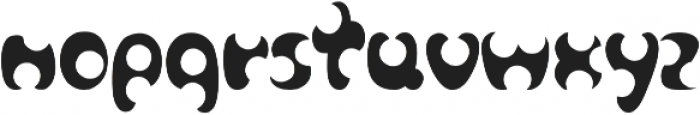 cheese otf (400) Font LOWERCASE