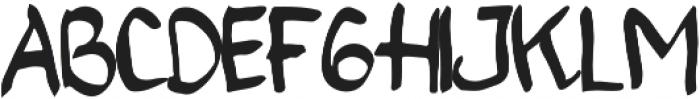cherry blossom ttf (400) Font UPPERCASE