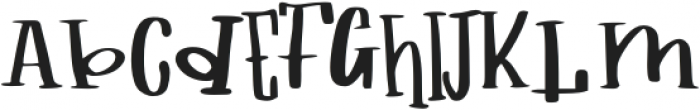 childs book otf (400) Font UPPERCASE