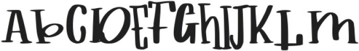 childs book ttf (400) Font UPPERCASE