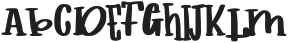 childs book ttf (400) Font LOWERCASE