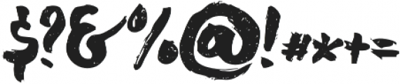 chocoleta 2 otf (400) Font OTHER CHARS