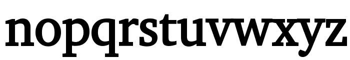 Challenge Bold Font LOWERCASE
