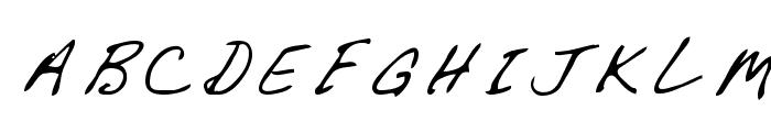 Chapman Regular Font UPPERCASE