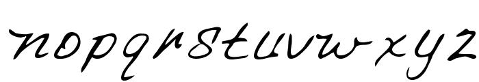 Chapman Regular Font LOWERCASE