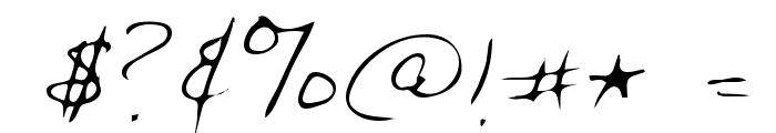Chris Regular Font OTHER CHARS
