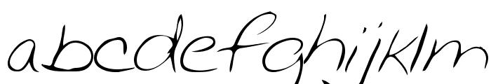 Chris Regular Font LOWERCASE