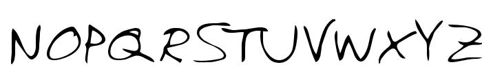 Chuckie Regular Font UPPERCASE