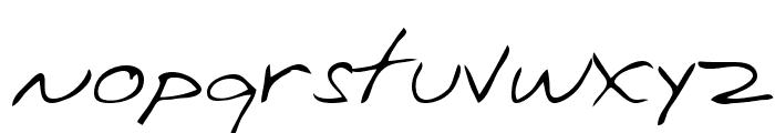 Chuckie Regular Font LOWERCASE