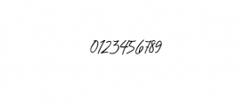 Chandelier Signature Font OTHER CHARS