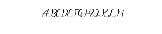 CheeksRosy-Script.otf Font UPPERCASE
