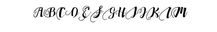 Chocolate Heart Script Font Font UPPERCASE