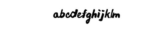 Chocoleta Font LOWERCASE