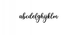 charlinda.ttf Font LOWERCASE