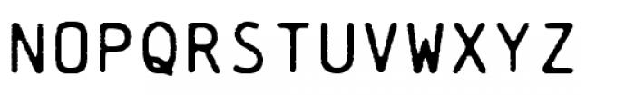 Chainprinter Font UPPERCASE