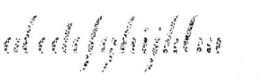 Chameleon Fill Skin 2 Font LOWERCASE