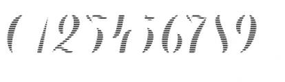 Chameleon Fill Stripe 2 Font OTHER CHARS