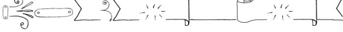 Chameleon Sketch Extra Font OTHER CHARS