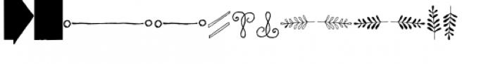 Chameleon Sketch Extra Font UPPERCASE