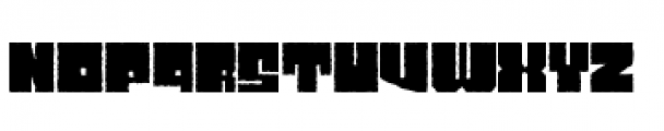 Characteristic Font UPPERCASE