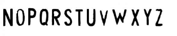 Cheapskate Fill Font LOWERCASE