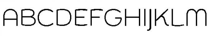 Chennai Light Font UPPERCASE