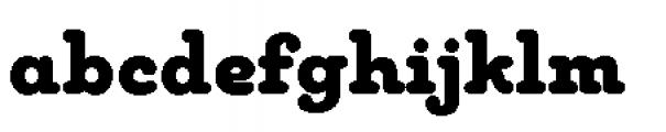 Chennai Slab Black Font LOWERCASE