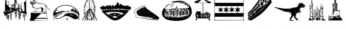 Chicago Doodles Font UPPERCASE