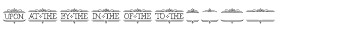 Church in the Wildwood Catchwords Inspired 3 Font UPPERCASE