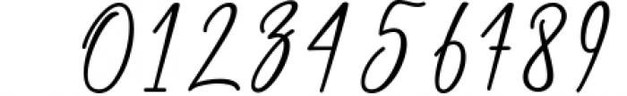 Chalisha Modern Calligraphy Font OTHER CHARS