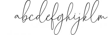 Chalisha Modern Calligraphy Font LOWERCASE