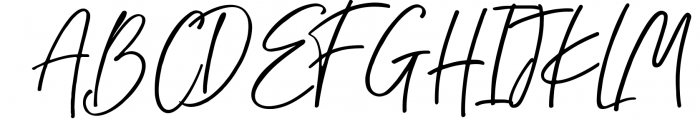 Chalofa Font UPPERCASE