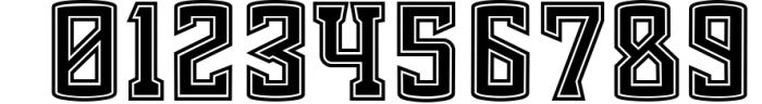 Chosla | Sports font family bundle. 9 Font OTHER CHARS