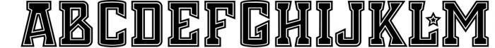 Chosla | Sports font family bundle. 9 Font UPPERCASE