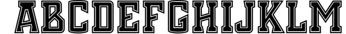 Chosla | Sports font family bundle. 9 Font LOWERCASE