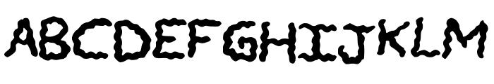 CHANDELIER Font UPPERCASE