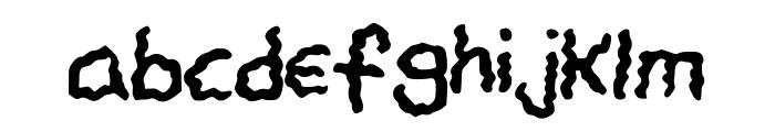 CHANDELIER Font LOWERCASE