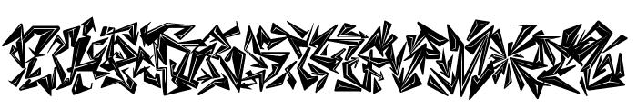 CHASE ZEN BLIGHT Font UPPERCASE