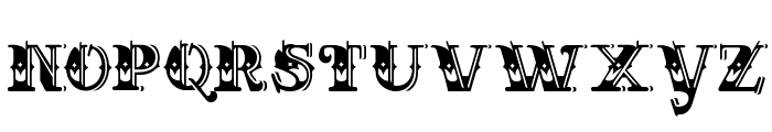 CHASE ZEN HOLY MONKEY NUTS Font LOWERCASE