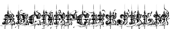 CHASE ZEN JINGLETRUCK KARACHI Font UPPERCASE