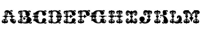 CHASE ZEN JINGLETRUCK KARACHI Font LOWERCASE