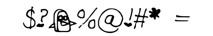 CHEEKINSo Font OTHER CHARS