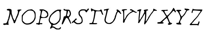CHEEKINSo Font UPPERCASE