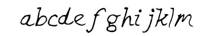 CHEEKINSo Font LOWERCASE