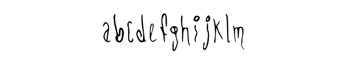 CHEMOs Font Regular Font LOWERCASE