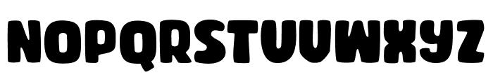 CHIBOLDdemo Font UPPERCASE