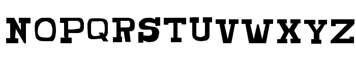 CHUNKY MUNKY SERIF Font UPPERCASE
