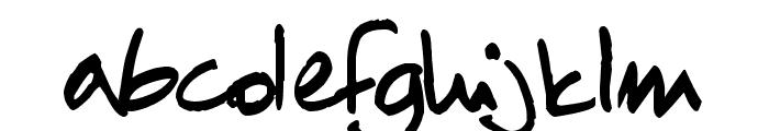 ChN1 Regular Font LOWERCASE