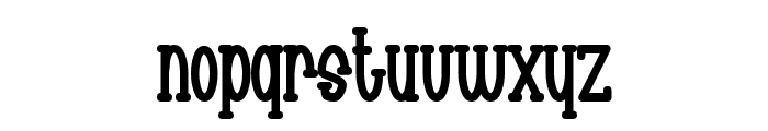 Chachie Font LOWERCASE