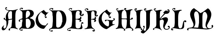 Chaillot Regular Font UPPERCASE